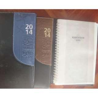 Diary notetaking, memo, jotting ideas, office or school use each S$2