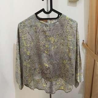 Treimee crop top blouse