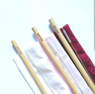 Sedotan Bambu Bambu Straw
