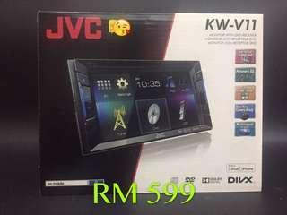 JVC KENWOOD AV RECEIVER DVD USB BT