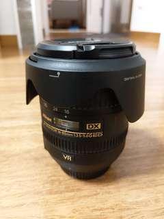 Nikon AF-S DX 16-85mm ED VR 95% 新