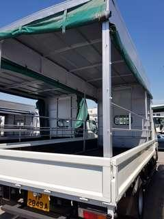 10 & 14 ft lorry for rent