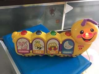 Fisher Price Caterpiliiar Toy