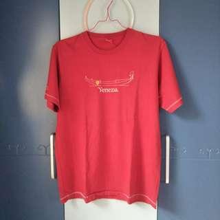 Kaos Scuderia Ferrari merah