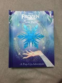 🚚 Frozen pop up 冰雪奇緣英文立體翻翻書 小孩大人都童心大爆發