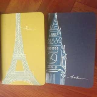 New old stock notebooks Unused Mint condition pages each S$0.8