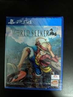 PS4 One Piece World Seeker (New)