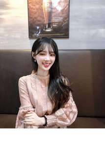 Korean lace blouse/ baju korea renda