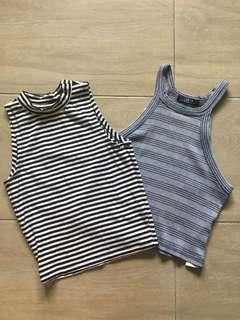NEW Cotton On & Factorie Striped Crop Top #SnapEndGame