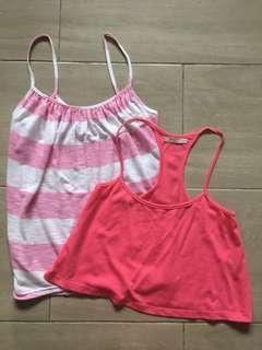 NEW Pink Tops / Supre & Bershka