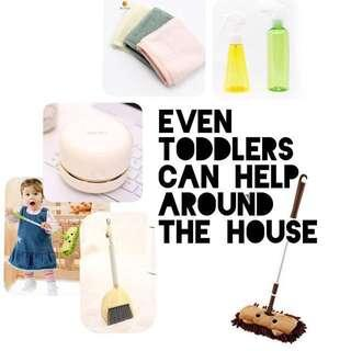 To bless: Cleaning Supplies For Little Hands