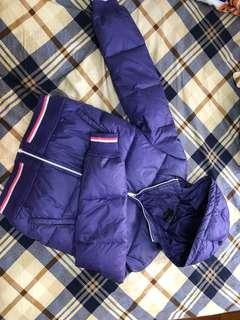 B-jeans 紫色羽絨外套