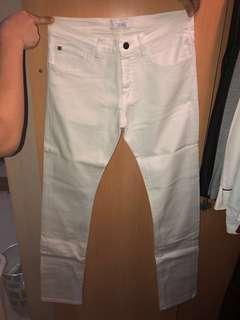 White Jeans ZARA MAN