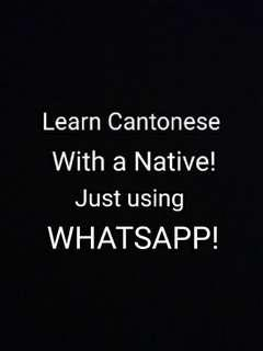 Cantonese Class for Foreigners 91324904