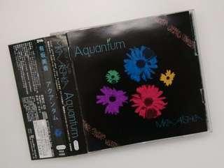 👍日版 有坂美香 Aquantum 2CD 大碟 (見本品)