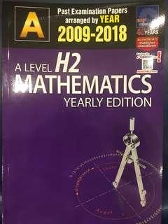 🚚 A Level H2 Mathematics TYS Yearly
