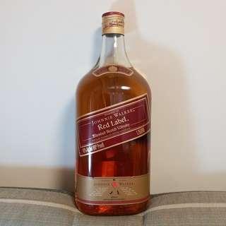 舊美國版 Johnnie Walker  Red Label  1.75L