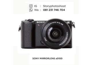 Jasa sewa rental kamera mirrorless