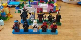 Lego Ninjago 連武器