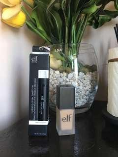 Elf Oil-free Flawless Finish Foundation and Hydrating undereye primer