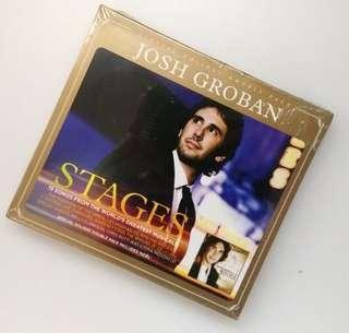 (全新包郵) 男聲 Josh Groban STAGES 特別版2CD大碟