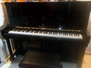 Piano Cristofori JT123EP with warranty 3yrs