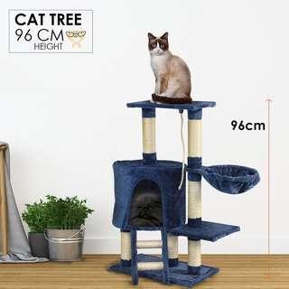 😺Cat Scratch Pole Treehouse PlayHouse😺