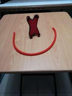 Hp holder n red colour cable wire