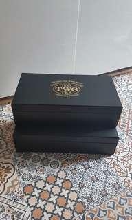 TWG Tea Black Gift Box Storage