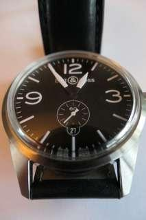 Bell & Ross BR 123, 41 mm steel, as new