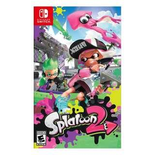 Switch Splatoon 英文版