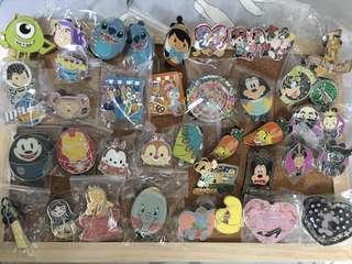 迪士尼徽章 Disney pin 迪士尼襟章 可交換