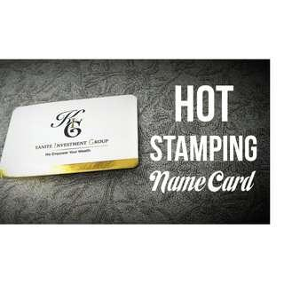 NAME & BUSINESS CARD PRINTING 1000PCS