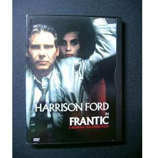 DVD Frantic harrison ford rolan polanski film 1區 夏利遜福