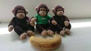 🚚 猴子玩偶 monkey