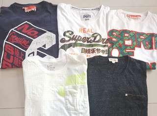 SUPERSET, DIESEL, NIKE 男庒 短袖 T~Shirt 正貨 99%新