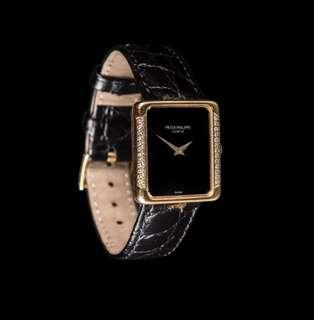 Patek Philippe ladies rectangles watch