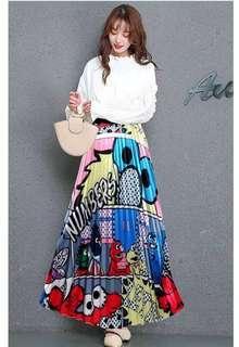 🚚 Elmo skirt