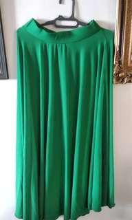 Preloved Green Skirt