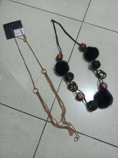 Buy one Get one Kalung H&M Gratis Kalung impor