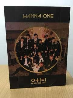 WANNA ONE 0+1=1 I PROMISE YOU ALBUM NIGHT VER.