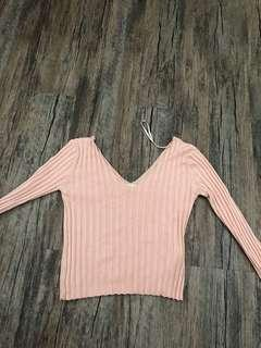 Pull&Bear Pink long sleeve