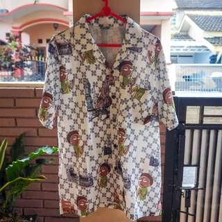 Thai Hawaii Print Shirt