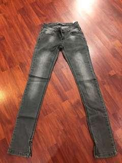 Zara jeans grey