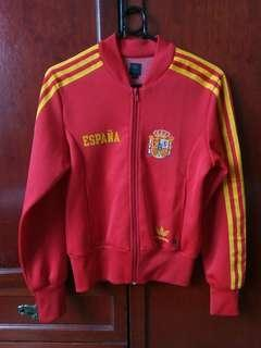 Adidas Spain España FIFA Women's Red Long-sleeved Track Jacket #SnapEndGame
