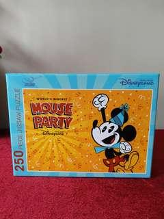 Disneyland mouse party puzzle