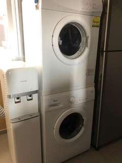 Midea 7 kg Washing Machine & 6 kg Dryer
