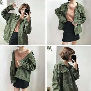 [INSTOCKS] BF Korean Ulzzang Denim Jacket Outerwear