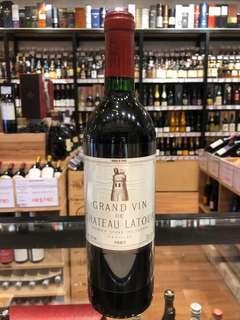 舊酒 1987 Chateau Latour 紅酒 red wine 拉圖