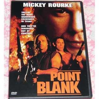 DVD Point Blank Mickey Rourke 1區
